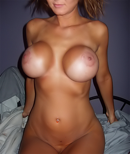Naughty GF Shows Her Brand New Boobjob